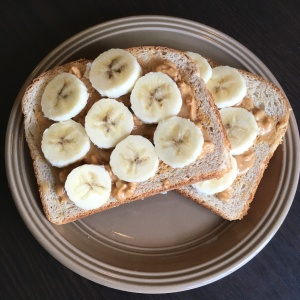 PB Banana Toast | Vegan Living by Danielle