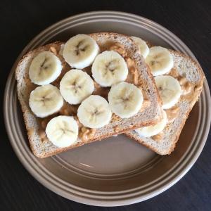 PB Banana Toast   Vegan Living by Danielle