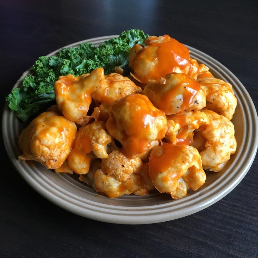 Easy Buffalo Cauliflower Bites | Vegan Living by Danielle