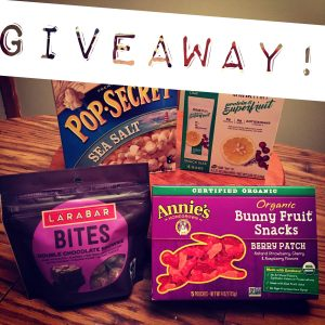 Vegan Snacks Giveaway | Vegan Living by Danielle