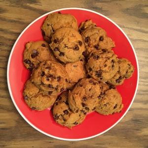 Pumpkin Chocolate Chip Cookies | Vegan Living by Danielle