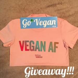T-Shirt Giveaway | Vegan Living by Danielle